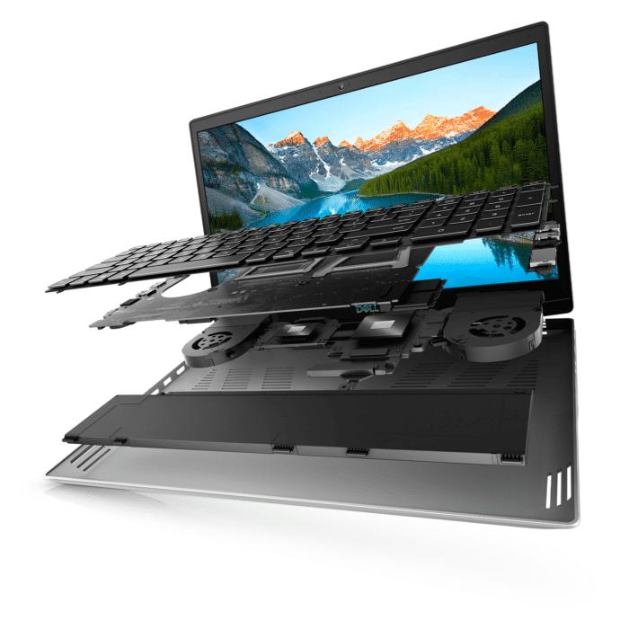 "LAPTOP DELL GAMING G5 5505 RYZEN 5 4600H RAM 8GB DISCO 512GB VIDEO 6GB 15.6"" FHD WINDOWS 10 - DELL GAMING G5 5505 1 - R&M Portátiles"