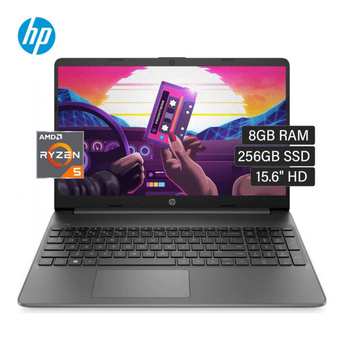 "LAPTOP HP 15-EF1024LA RYZEN 5 4500U RAM 8GB DISCO 256GB SSD 15.6"" HD FREEDOS - HP 15 EF1024LA - R&M Portátiles"