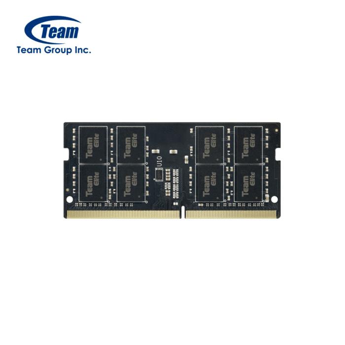 MEMORIA RAM SODIMM TEAM GROUP ELITE 16GB DDR4 3200MHZ - MEMORIA SOMMIN 8GB - R&M Portátiles