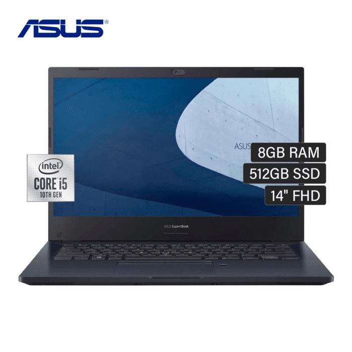"LAPTOP ASUS P2451FA-EK2033 INTEL CORE I5 10210U RAM 8GB DISCO 512GB SSD 14"" FREEDOS - ASUS P2451FA - R&M Portátiles"
