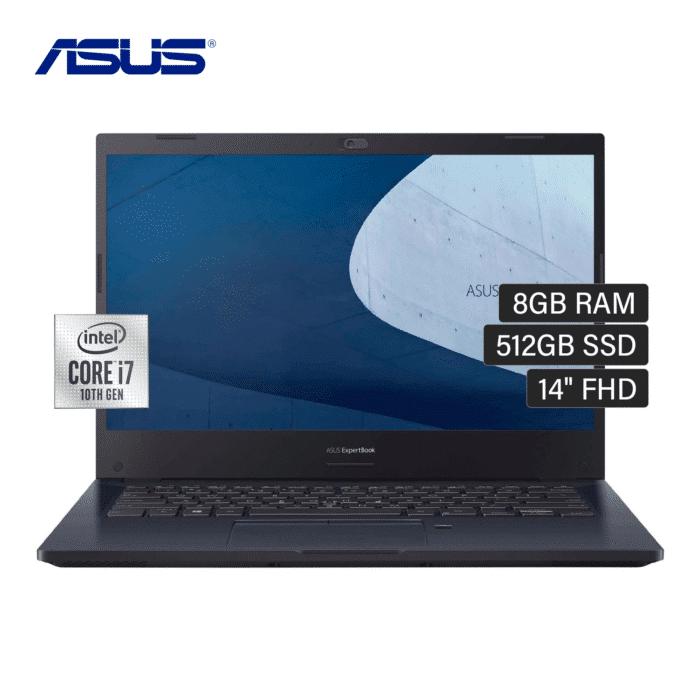 "LAPTOP ASUS P2451FA-EK2034 INTEL CORE I7 10510U RAM 8GB DISCO 512GB SSD 14"" FREEDOS - ASUS P2451FA CORE I7 512GB 14 1 - R&M Portátiles"