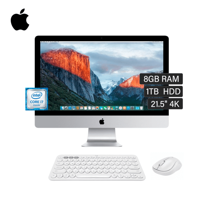 "IMAC A1418 INTEL CORE I7 3.4GHZ RAM 8B DISCO 1TB 21.5"" 4K AÑO 2015 ESPAÑOL - IMAC A1418 - R&M Portátiles"