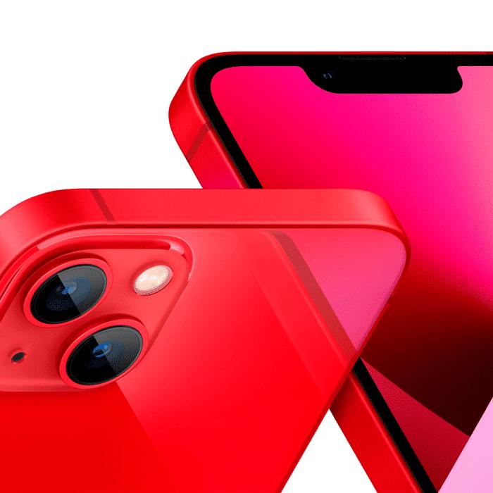 "IPHONE 13 A2482 ALMACENAMIENTO 256GB 6.1"" 4K 5G RED - IPHONE 13 RED 3 - R&M Portátiles"